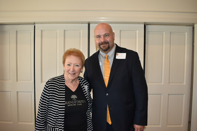 Nancy Carlton & Joe Rizzo (Flagler County Education Foundation)