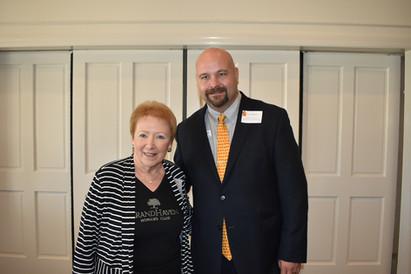 Nancy Carlton & Joe Rizzo (Flagler County Education Foundation)