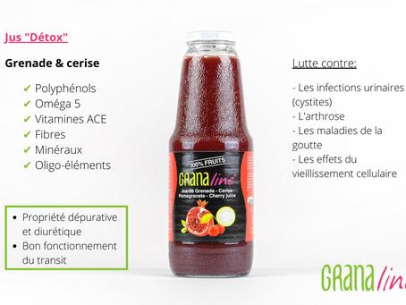 Le jus de grenade-cerise pour prévenir les infections urinaires ?