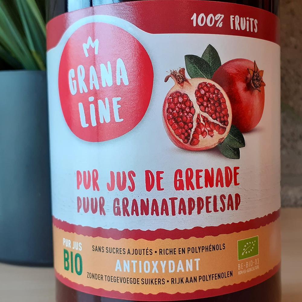 Bouteille de pur jus de grenade Granaline 1L