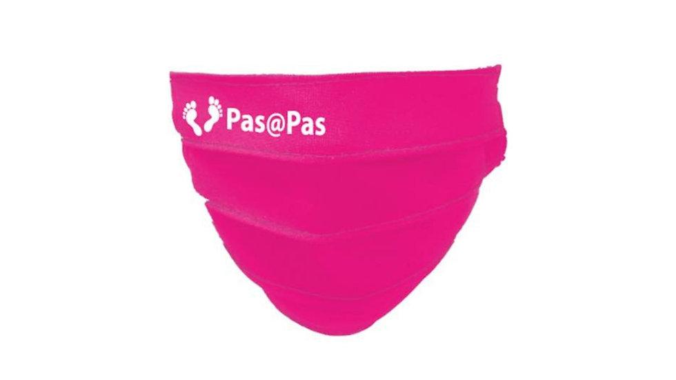 Masque en tissu de l'association Pas@Pas