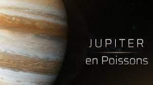 JUPITER - bien installé en Poissons