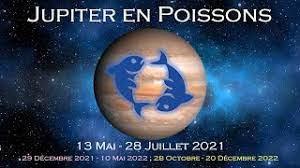 13 mai 2021 - Jupiter en Poissons : Connectez-vous à l'énergie du pardon et de l'amour universel