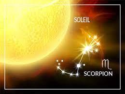 Soleil en Scorpion