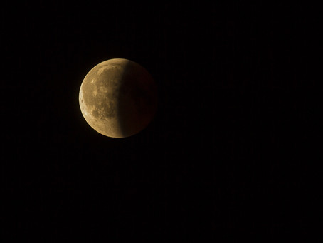 On est toujours sous l'effet de la Pleine Lune et Éclipse Lunaire Partielle en Capricorne