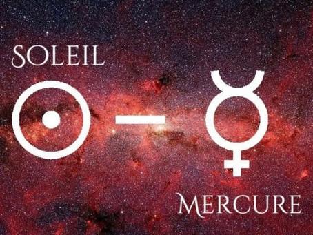 8 février 2021 - Soleil-Mercure conjoint