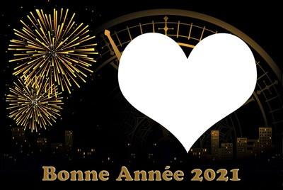 Bonne 2021 à vous tous!