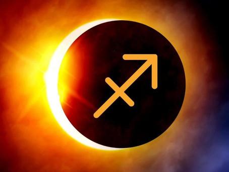14 décembre 2020 - Nouvelle Lune et Éclipse du soleil  et du Nœud Sud