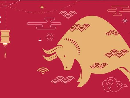12 février 2021 - Joyeuse Année Chinoise du Boeuf de Métal
