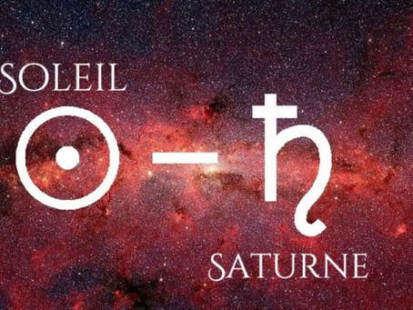 24 janvier 2021 - Soleil-Saturne conjoint