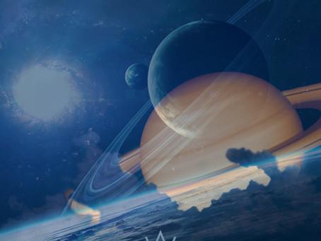 6 juillet 2021 - Saturne opposé Vénus, et les deux planètes carré Uranus