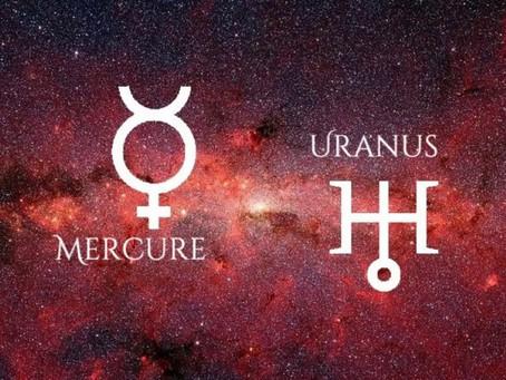 17 novembre 2020 - Mercure opposé Uranus