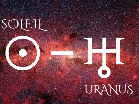 5 juillet 2021 - Soleil-Uranus sextile
