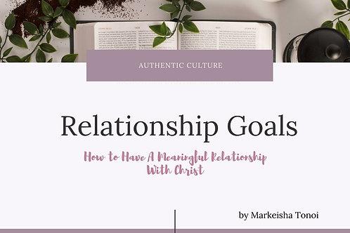 Relationship Goals Course