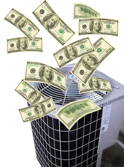 Air Conditioner blowing money | Matthew Stewart Real Estate | Rocklin | Roseville | Granite Bay | Loomis | Folsom