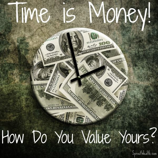 Time is money clock | Matthew Stewart Real Estate Team