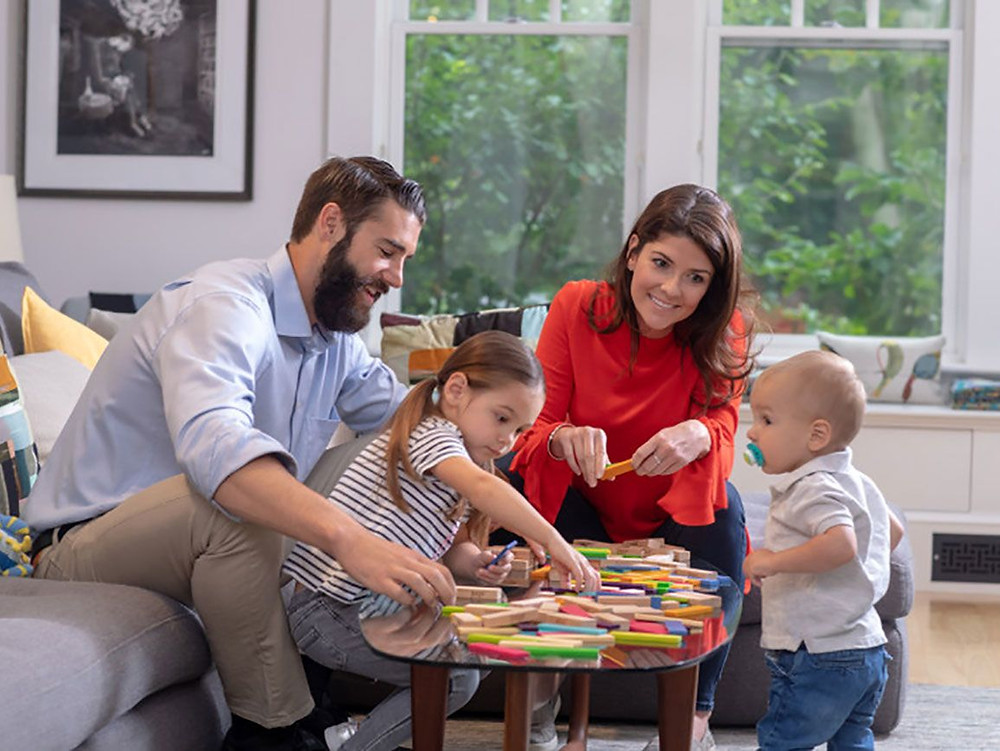 Family activity, game night. Matthew Stewart Real Estate Team