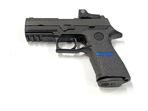 Sig Sauer P320 X5 Thin Line Series Textured Rubber Gun Grip Wrap Gun Parts Kit
