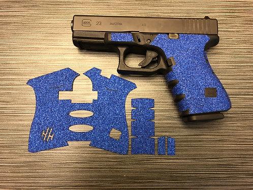 Handleitgrips Blue Sandpaper Gun Grip Tape Wrap for Glock 19 and Glock 23 Gen3