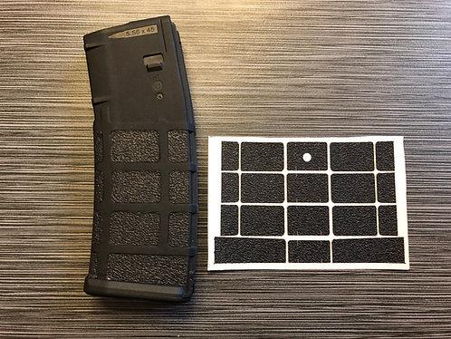 AR 15 Magpul P MAG Textured Rubber Enhancement Grip Insert Kit