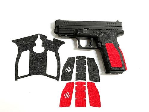 Springfield XD 45  Hybrid Textured Rubber / Sandpaper  Gun Grip Kit