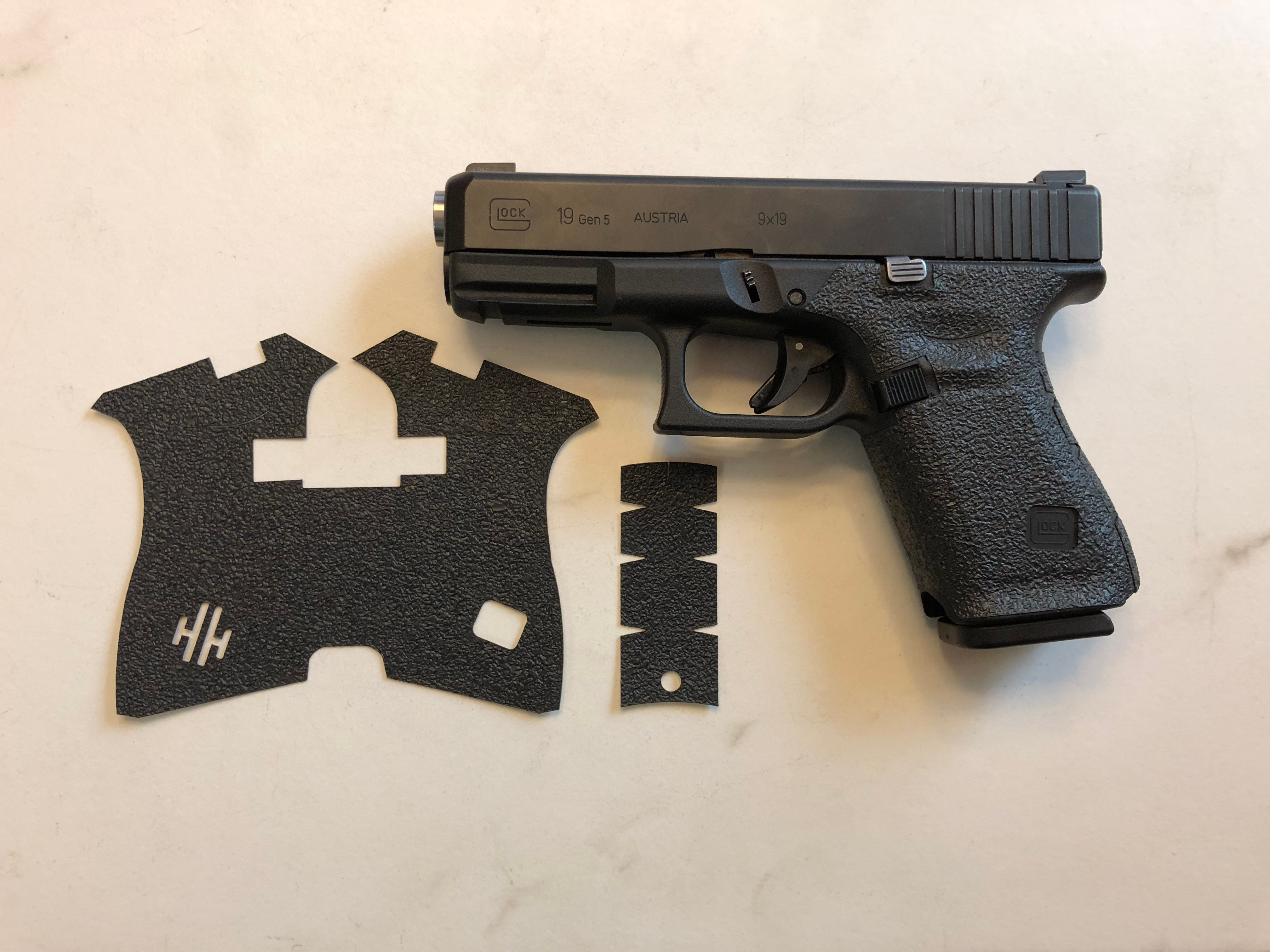 Glock 19/23 Gen 5 MOS Gun Grip Enhancement Gun Parts Kit