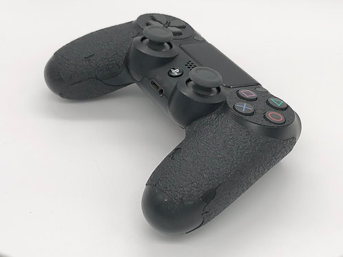 Textured Rubber Gamer Grip for Play Station 4 Game Controller