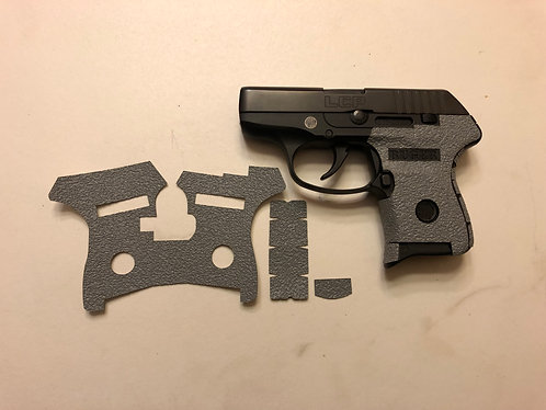 Ruger LCP 380 Gray Textured Rubber Gun Grip Enhancement Gun Parts Kit