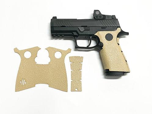 Sig Sauer Desert Sand Grip Grip Textured Rubber Grip Enhancement Gun Parts Kit