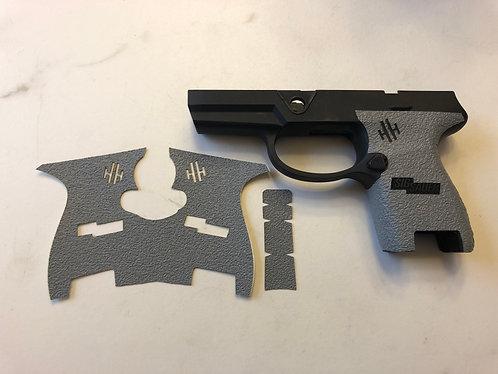 SIG SAUER P320 Subcompact Gray Textured Rubber Gun Grip Enhancement Kit