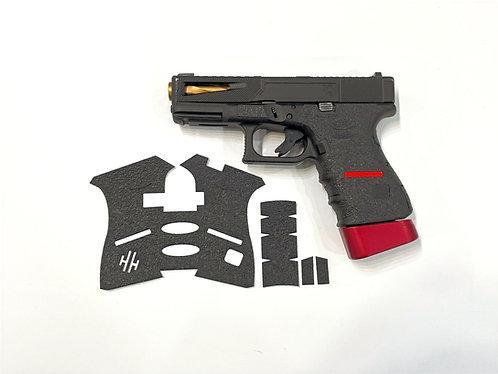 Glock Thin Line Series Textured Rubber Gun Grip Wrap Gun Parts Kit
