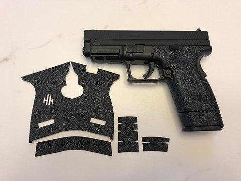 Springfield XD Sub Compact 45  Gun Grip Enhancement Gun Part Kit