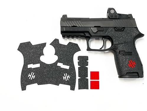 SIG SAUER P320 Compact Textured Rubber Gun Grip Enhancement Gun Parts Kit