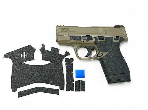 Smith and Wesson Shield 9/40 Gun Grip Enhancement Parts Kit with Blue Insert