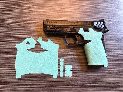 Smith and Wesson Shield ez Tiffany Blue Sandpaper Gun Grip Enhancement Gun Parts