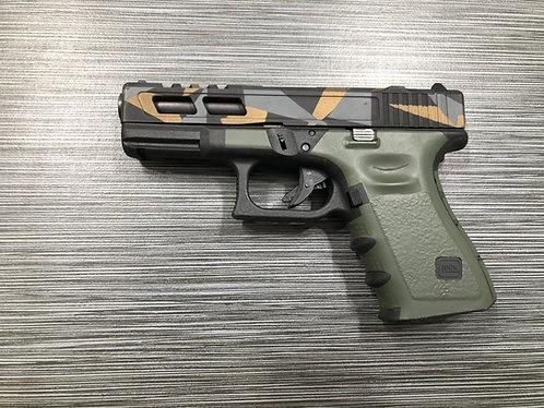 Glock  OD Green Vinyl Style Gun Grip Wrap Gun Pa