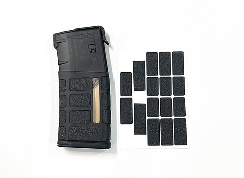 AR 10  PMAG  25 RD  Magazine Textured Rubber Enhancement Grip  Kit