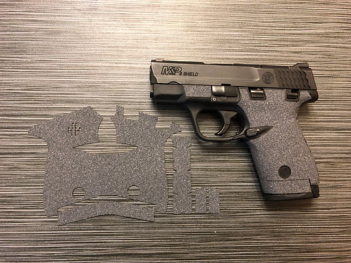 Smith and Wesson Shield Gray Color Sandpaper Grip Enhancement