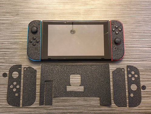Textured Rubber Gamer Grip for Nintendo Switch