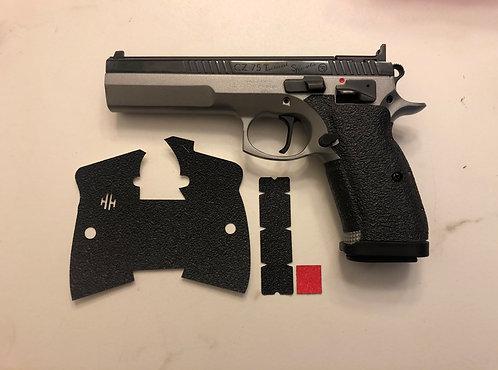 CZ 75 Tactical Sport Gun Grip Enhancement Gun Parts Kit