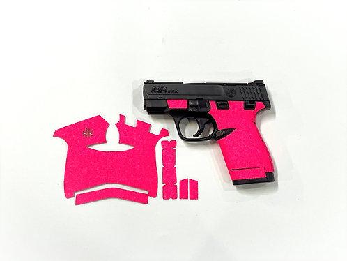 Smith and Wesson Shield Pink Color Sandpaper Gun Grip Enhancement Gun Parts K