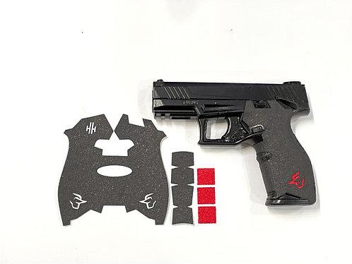 Taurus TX22  Gun Grip Enhancement Gun Parts Kit With Red Inserts
