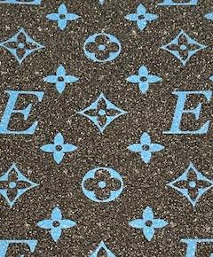 BLACK _ BLUE ELEGANT SANDPAPER
