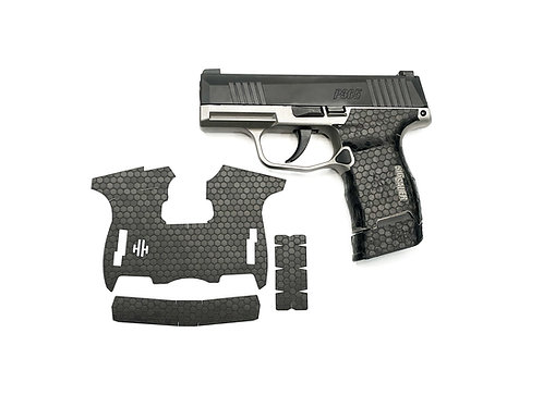 Sig Sauer P365 Honeycomb Vinyl Style Gun Grip Wrap Gun Parts Kit