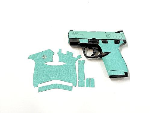 Smith and Wesson Shield Tiffany Blue Sandpaper Gun Grip Enhancement Gun Part Kit