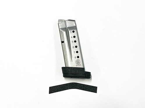 Smith & Wesson Shield 8 RD Extended Magazine Grip Enhancement Kit
