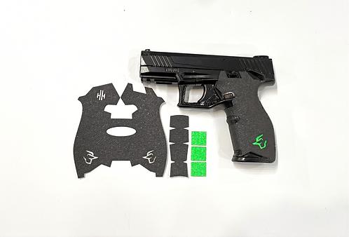 Taurus TX22  Gun Grip Enhancement Gun Parts Kit With Green Inserts