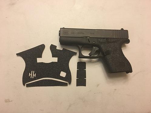 Glock 43 Gun Grip Enhancements Gun Parts Kit