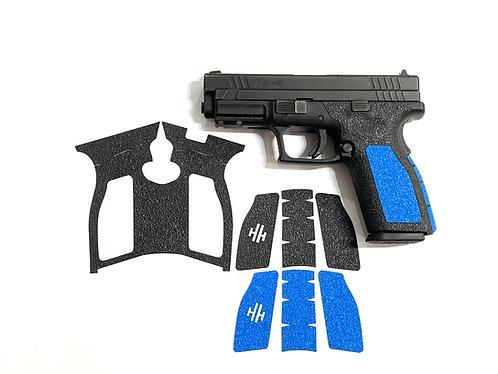 Springfield XD 9/40  Hybrid Textured Rubber / Sandpaper  Gun Grip Kit