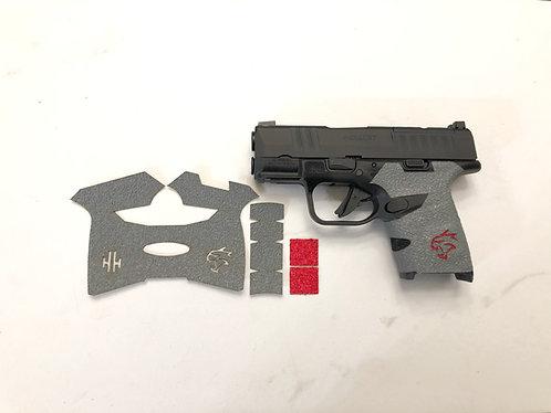 Springfield HELLCAT Gray Gun Grip Enhancement Gun Parts Kit Color Insert